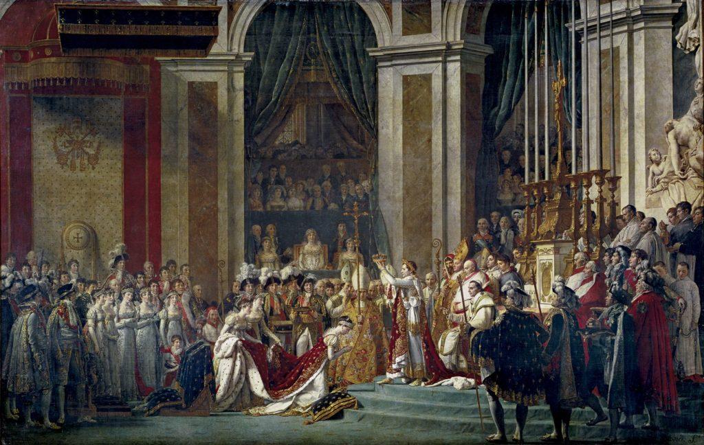Napoléon-sacrant-Joséphine-couverture-anecdotes-historiques