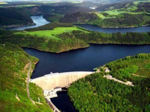 barrage Hohenwarte thuringe construit entre 1936 et 1942