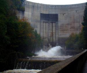 barrage d'Okertal Allemagne Basse-Saxe décidé par les nazies en 1938