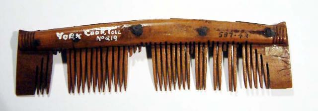 peigne datant de l'âge viking musée de Yorkshire