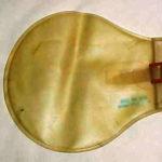 Gourde Vinylite transportée au sein des vestes de survie C-1 des pilotes américains de la seconde guerre mondiale