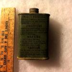 Repulsif contre les insectes au sein des vestes de survie C-1 de la seconde guerre mondiale