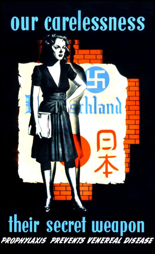 affiche de propagande armée américaine seconde guerre mondiale contre MST