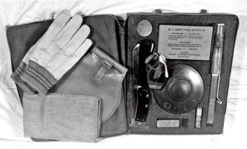 kit de survie de série B-4 par l'AAF pendant la seconde guerre mondiale