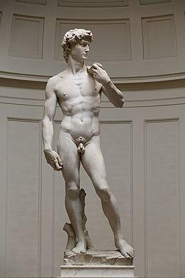 Le David de Michel-Ange