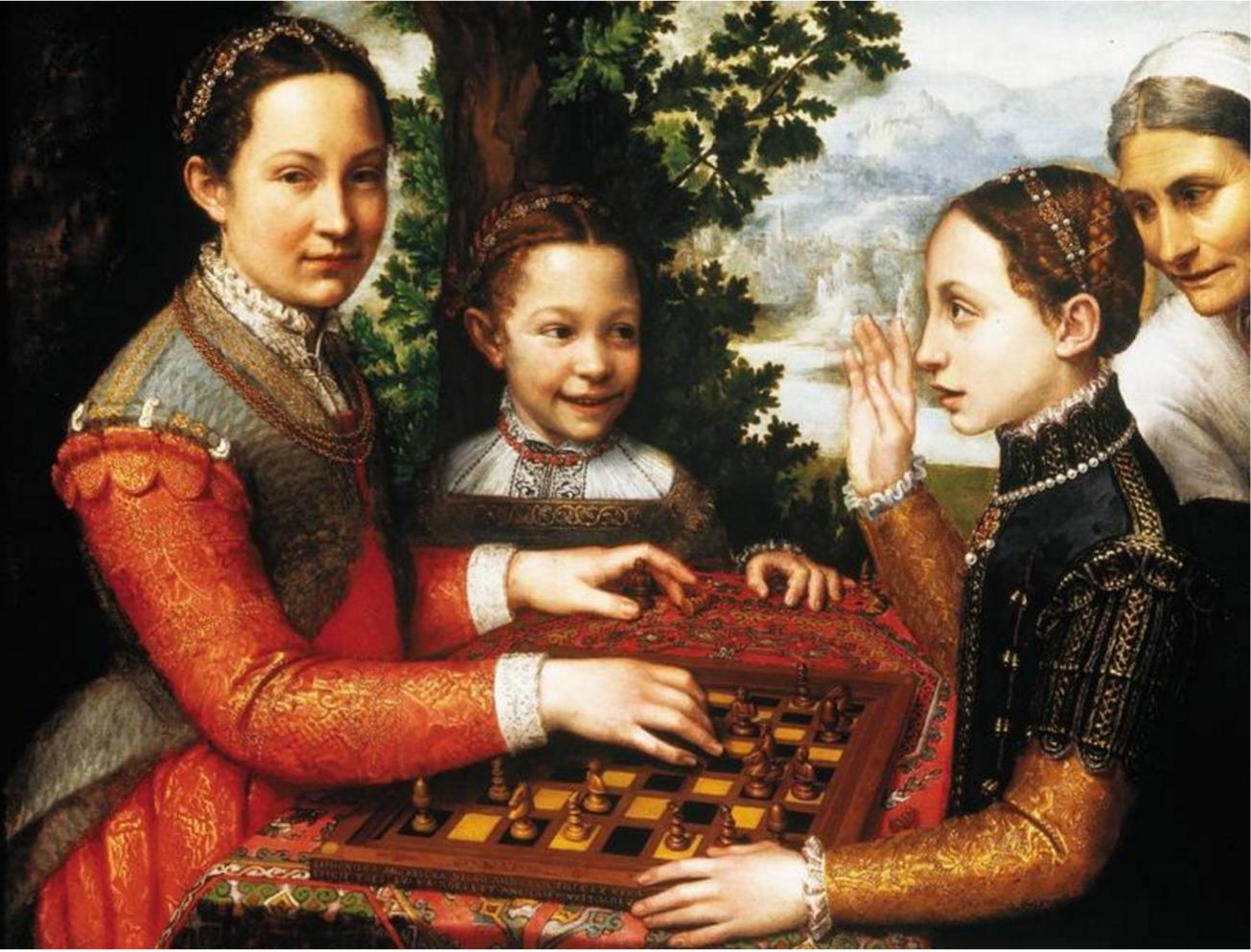 La_partie_dechec_Sofonisba_Anguissola femme artiste