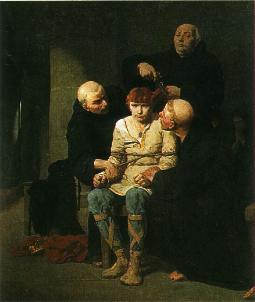 Evariste-Vital_Luminais_(1822-1896)_Le_dernier_des_Mérovingiens
